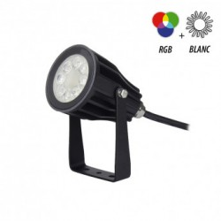 Projecteur Led RGB+Blanc...