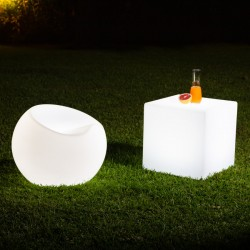 Pouf LED RGBW Rechargeable